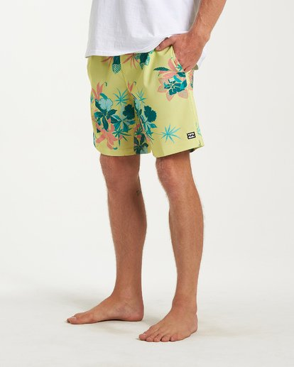7 Sundays Layback Boardshorts Yellow M180VBSU Billabong