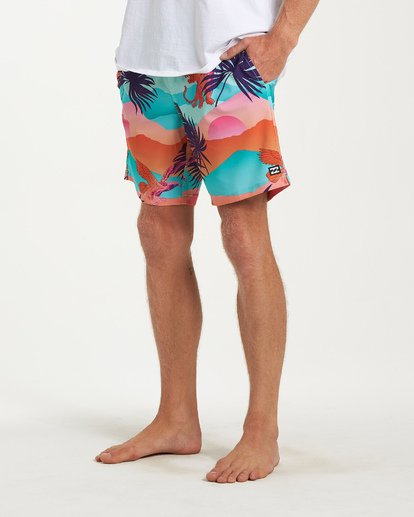 7 Sundays Layback Boardshorts Green M180VBSU Billabong