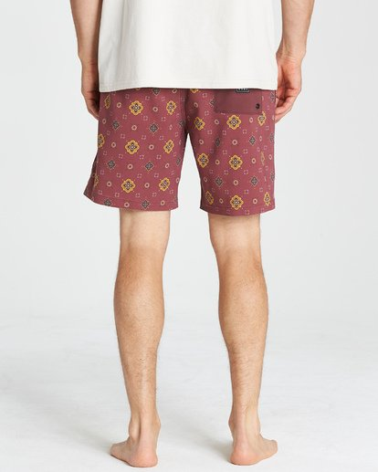 11 Sundays Layback Boardshorts Brown M180VBSU Billabong
