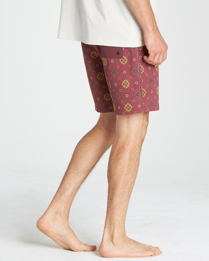 9 Sundays Layback Boardshorts Brown M180VBSU Billabong