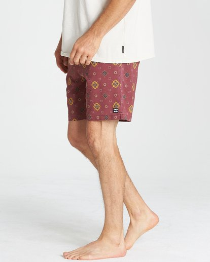 10 Sundays Layback Boardshorts Brown M180VBSU Billabong