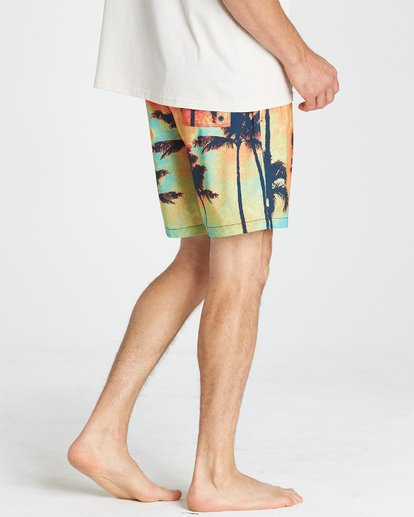 8 Sundays Layback Boardshorts Blue M180VBSU Billabong