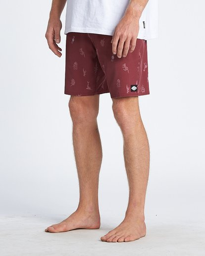 5 Sundays Fauna Lo Tide Boardshorts Blue M180WBSR Billabong