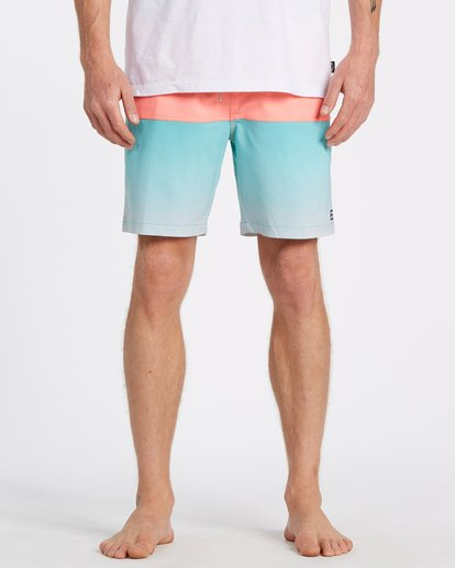 "2 Fifty50 Layback Boardshort 17"" Blue M1811BFB Billabong"