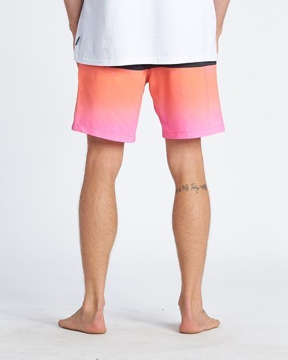 8 Fifty50 Layback Boardshorts Pink M1811BFB Billabong