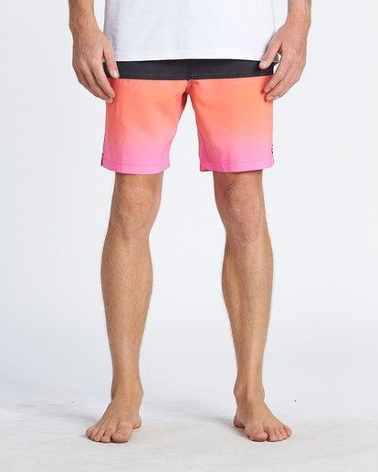 6 Fifty50 Layback Boardshorts Pink M1811BFB Billabong