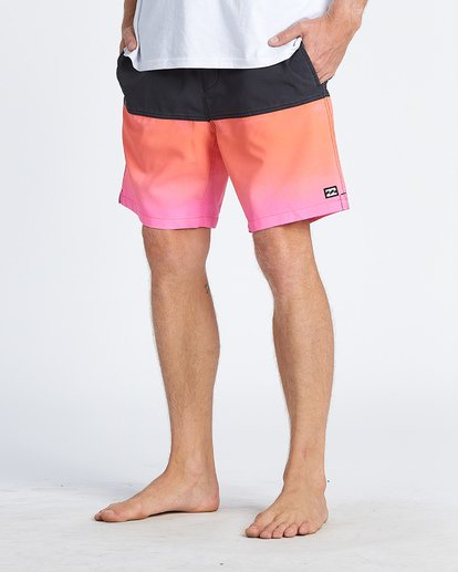 7 Fifty50 Layback Boardshorts Pink M1811BFB Billabong