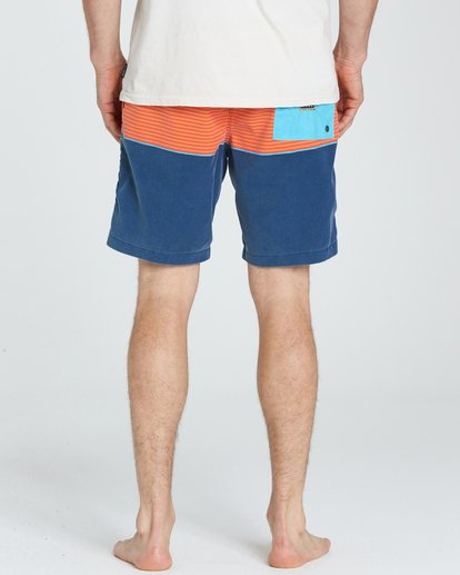 4 Tribong Layback Boardshorts Orange M181NBTB Billabong