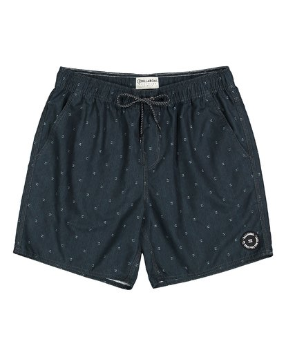 0 All Day Mini Mark Layback Boardshorts Black M181VBME Billabong