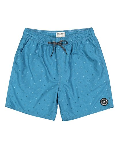 0 All Day Mini Mark Layback Boardshorts Blue M181VBME Billabong