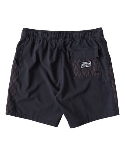 1 D Bah Layback Boardshorts Black M181VBSD Billabong