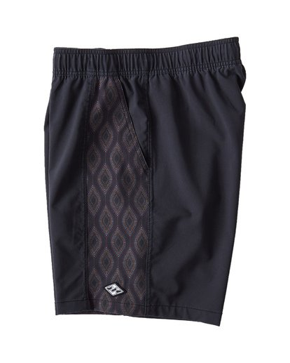 2 D Bah Layback Boardshorts Black M181VBSD Billabong
