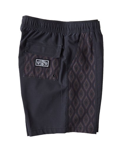 3 D Bah Layback Boardshorts Black M181VBSD Billabong