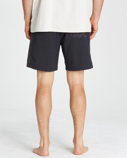 10 D Bah Layback Boardshorts Black M181VBSD Billabong