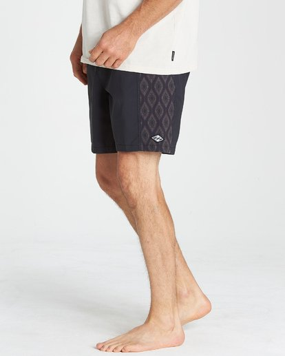 9 D Bah Layback Boardshorts Black M181VBSD Billabong