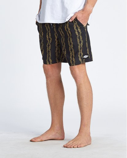 5 Tucker Vert Layback Boardshorts Black M181WBTR Billabong