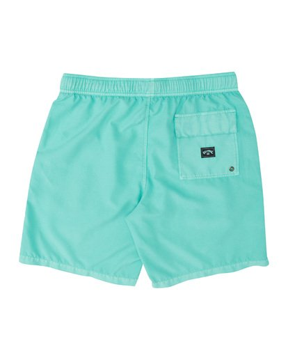 "1 All Day Overdye Layback 17"" Boardshort Blue M1821BAB Billabong"