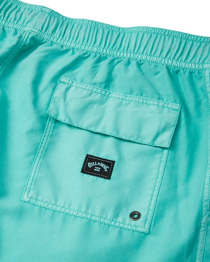 "6 All Day Overdye Layback 17"" Boardshort Blue M1821BAB Billabong"