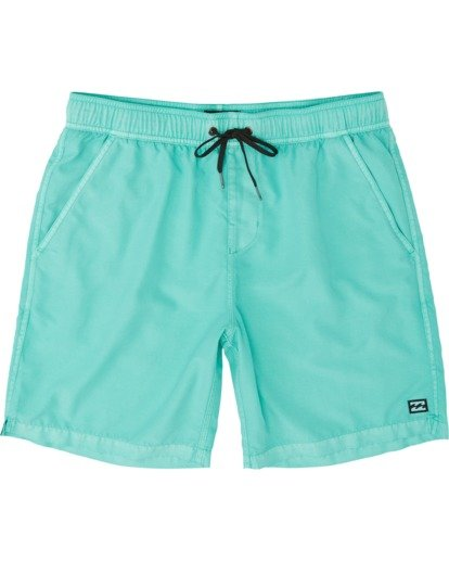 "0 All Day Overdye Layback 17"" Boardshort Blue M1821BAB Billabong"
