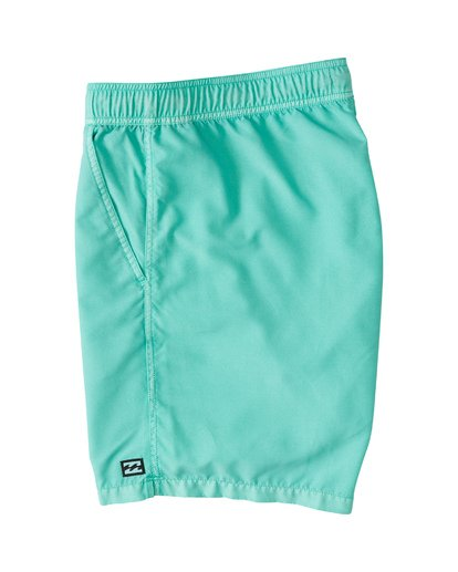 "2 All Day Overdye Layback 17"" Boardshort Blue M1821BAB Billabong"