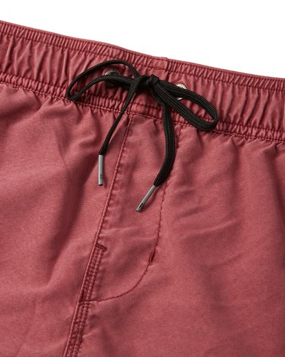 "4 All Day Overdye Layback Boardshorts 17"" Red M1821BAB Billabong"