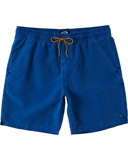 "0 All Day Overdye Layback Boardshorts 17"" Blue M1821BAB Billabong"