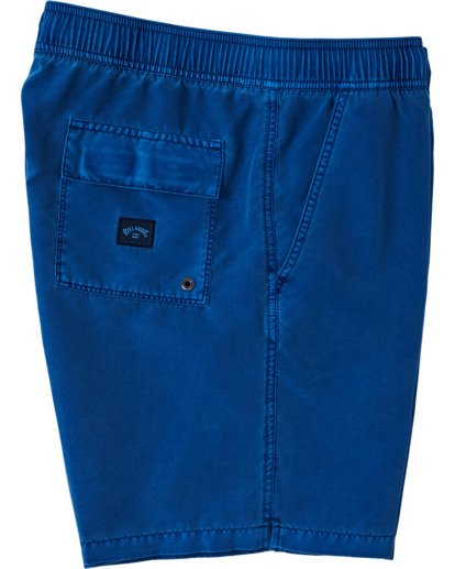 "2 All Day Overdye Layback Boardshorts 17"" Blue M1821BAB Billabong"
