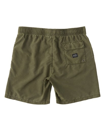 "1 All Day Overddye Layback 17"" Boardshort Green M1821BAB Billabong"