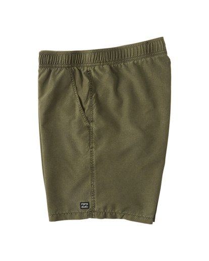 "2 All Day Overdye Layback Boardshorts 17"" Green M1821BAB Billabong"