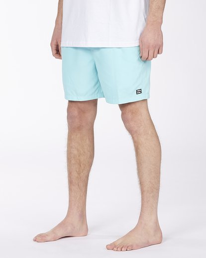 "8 All Day Overdye Layback Boardshort 17"" Blue M1821BAB Billabong"