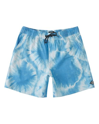 0 Riot Layback Boardshorts Blue M1821BRE Billabong