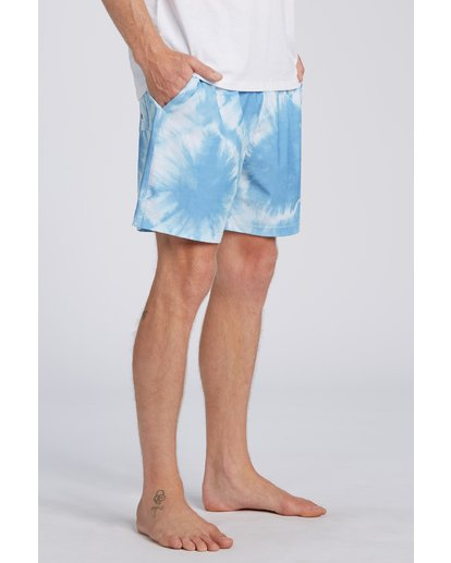 3 Riot Layback Boardshorts Blue M1821BRE Billabong
