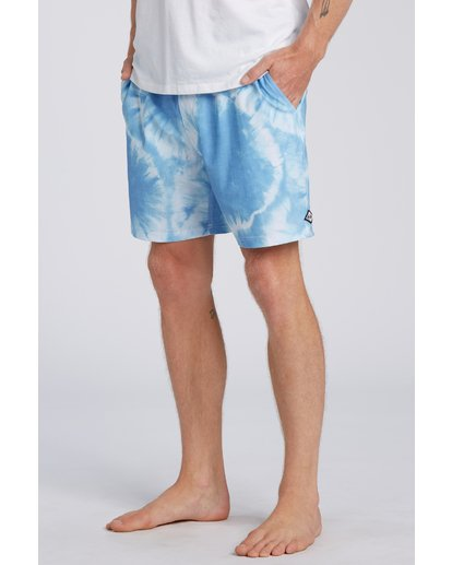 4 Riot Layback Boardshorts Blue M1821BRE Billabong