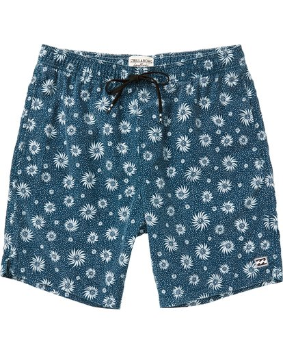 0 Sundays Layback Boardshorts Blue M182NBSU Billabong