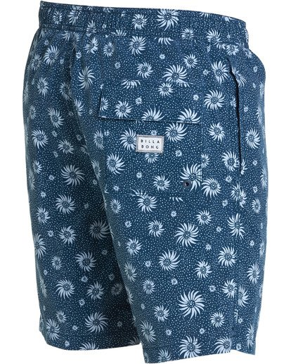 3 Sundays Layback Boardshorts Blue M182NBSU Billabong
