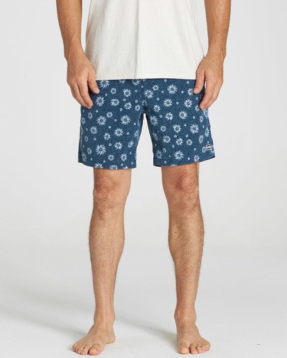 4 Sundays Layback Boardshorts Blue M182NBSU Billabong