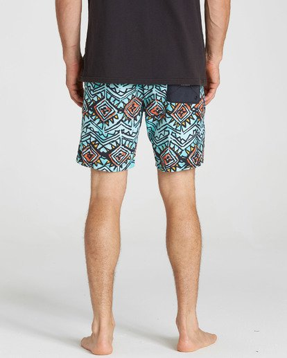 5 Sundays Layback Boardshorts Red M182NBSU Billabong