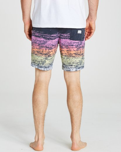 4 Sundays Layback Boardshorts Pink M182NBSU Billabong
