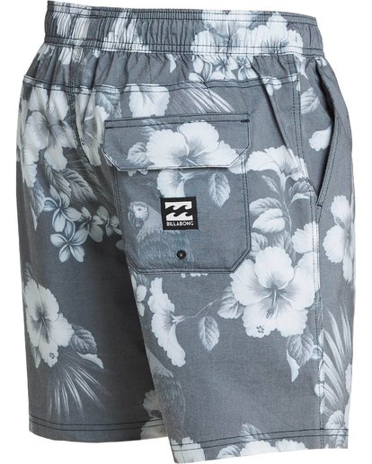 2 Sundays Floral Layback Boardshorts Black M182PBSE Billabong