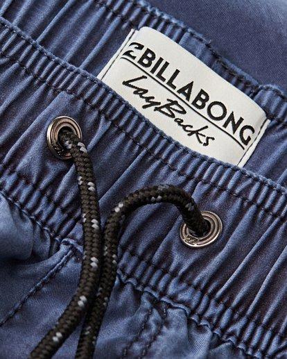 2 All Day Overdye Layback Boardshorts Blue M182QBOE Billabong
