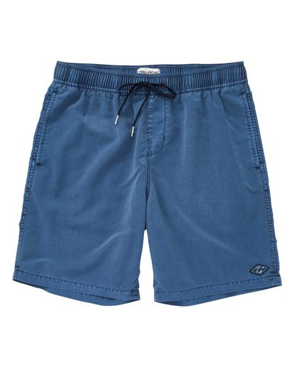 0 All Day Layback Boardshorts Blue M182TBAD Billabong