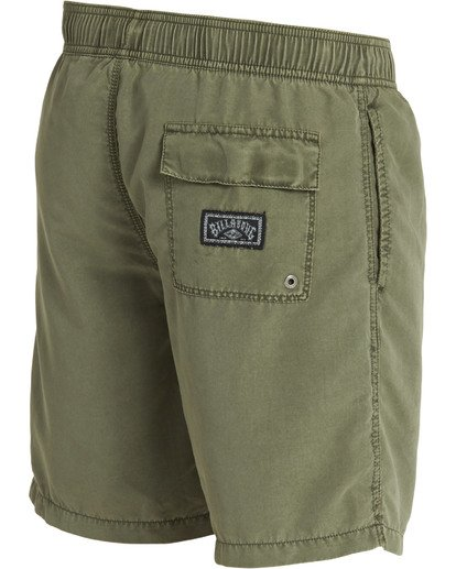 3 All Day Layback Boardshorts Green M182TBAD Billabong