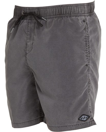 2 All Day Layback Boardshorts Black M182TBAD Billabong