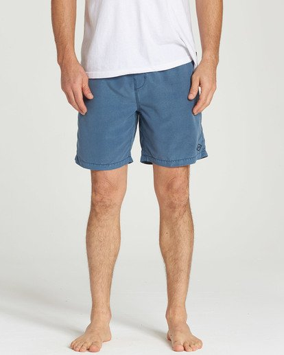 4 All Day Layback Boardshorts Blue M182TBAD Billabong