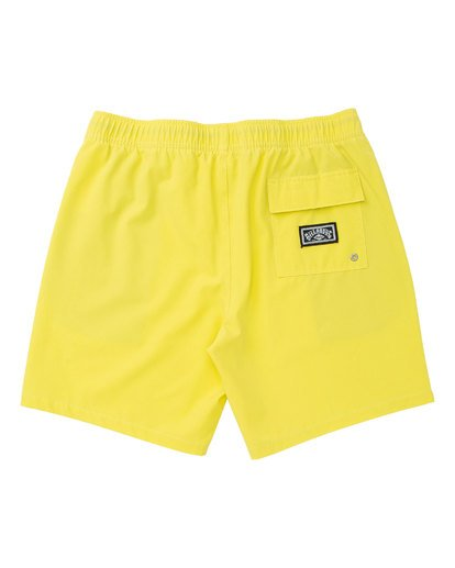 1 All Day Layback Boardshorts Yellow M182TBAE Billabong