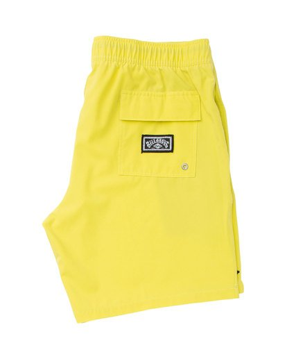 2 All Day Layback Boardshorts Yellow M182TBAE Billabong