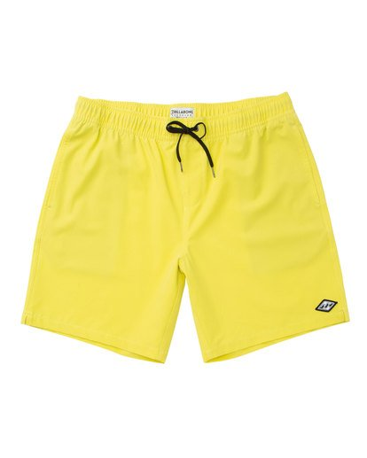 0 All Day Layback Boardshorts Yellow M182TBAE Billabong