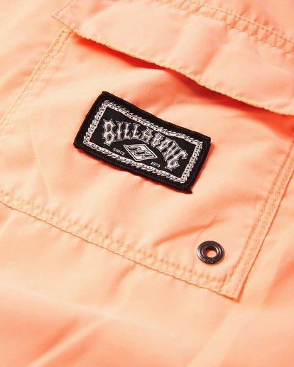 5 All Day Layback Boardshorts Orange M182VBAD Billabong