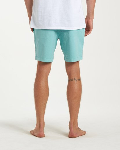 10 All Day Layback Boardshorts Green M182VBAD Billabong