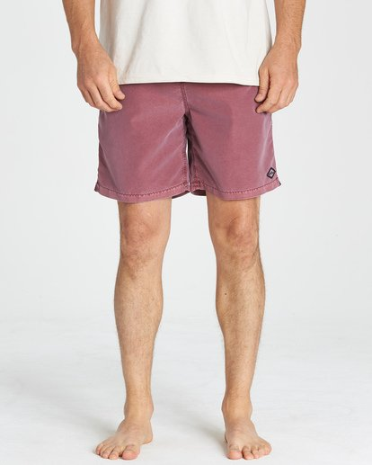 7 All Day Layback Boardshorts Pink M182VBAD Billabong
